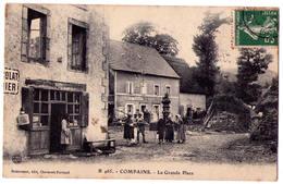 4701 - Compains ( 63 ) - La Grande Place - N°B465 - Dumousset édit. à Cl.-Fd. - - Francia