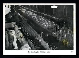 14331-GERMAN EMPIRE-PROPAGANDA POSTCARD ADOLF HITLER.1937.WWII.NURNBERG.Hoffmann.DEUTSCHES REICH.POSTKARTE.Carte - Allemagne
