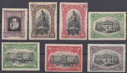ESPAÑA - SPAGNA - SPAIN - ESPAGNE- 1916 - Lotto Di 7 Valori Nuovi MH: Yvert Servizio 12/18. - Servizi