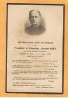 IMAGE GENEALOGIE FAIRE PART AVIS DECES CHANOINE  GOIN  CURE DE SAINT FRANCOIS D ANNONAY   1870 1930 - Décès