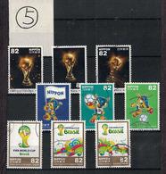 Japan 2014.05.12 FIFA World Cup Brazil (used)⑤ - 1989-... Empereur Akihito (Ere Heisei)