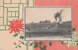 Chien-Chin-Chai China, Colliery Shrine And East Shaft Mine S. Manchuria Railway Line C1900s/10s Vintage Postcard - China
