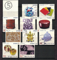 Japan 2014.10.24 Japanese Traditional Craft Series 3rd (used)⑤ - 1989-... Empereur Akihito (Ere Heisei)