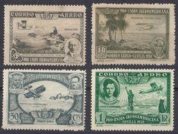 ESPAÑA - SPAGNA - SPAIN - ESPAGNE- 1930 - Lotto Di 4 Valori Nuovi MH: Yvert Posta Aerea 75, 76, 79 E 80. - Nuevos & Fijasellos