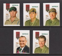 Australia 2015 Legends - The Victoria Cross Set Of 5 Used - 2010-... Elizabeth II