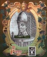 Zambia 2000 The Popes Of The Millennium (ss). MNH II - Zambia (1965-...)