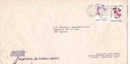 GUIA ARGENTINA DE TRAFICO AEREO - COMMERCIAL ENVELOPE CIRCULEE YEAR 1982 ARGENTINE BANDELETA PARLANTE - BLEUP - Briefe U. Dokumente