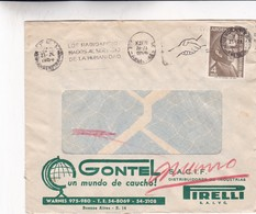 GONTEL - COMMERCIAL ENVELOPE CIRCULEE YEAR 1964 ARGENTINE BANDELETA PARLANTE - BLEUP - Argentinien