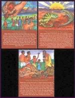 Zambia 2000 African Legends (3v). MNH - Zambia (1965-...)