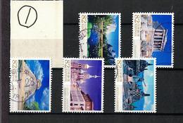 Japan 2015.07.10 Overseas World Heritage Series 5th (used)① - 1989-... Empereur Akihito (Ere Heisei)