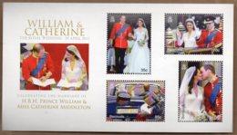 2011 Royal Wedding Mini Sheet MNH - Bermuda