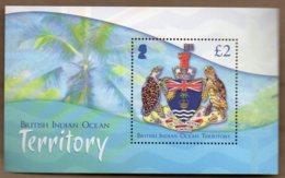 2014 Crest Mini Sheet MNH - British Indian Ocean Territory (BIOT)