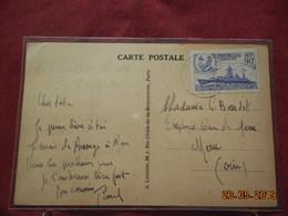 Carte De 1939 à Destination De Méru - Marcophilie (Lettres)