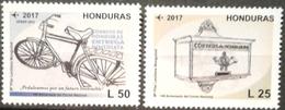 Honduras 2018 ** 140 Aniversario Del Correo Nacional. Buzon. Bicicleta - Honduras
