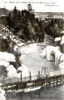 Sherbrooke Québec - Winter View Magog River From Wolfe Bridge - Written 1906 - Pinsonneault Frères - 2 Scans - Sherbrooke