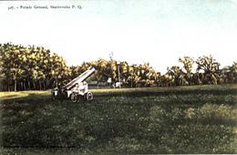 Sherbrooke Québec - Parade Ground - Actuellement Champ-de-Mars - Written 1907 - Pinsonneault Frères - 2 Scans - Sherbrooke