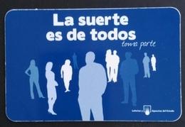 TARJETA CALENDARIO LOTERÍAS Y APUESTAS DEL ESTADO. - Otros