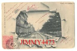 BILHETE POSTAL 1907 - Boulevard De La République - PARA PITTORESCO -E. U. Do Brazil - Edit. Alfredo Augusto Silva - Belém