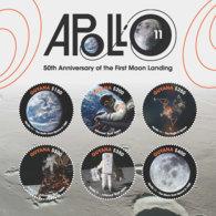 Guyana 2018 Apollo 11,space I201901 - Guyana (1966-...)