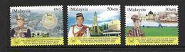 MALAYSIA 2008 SULTAN YVERT N°1272/74 NEUF MNH** - Malaysia (1964-...)