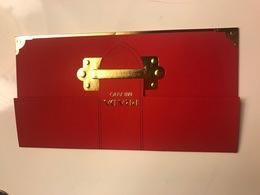 Red Pocket CNY Nouvel An Chinois PRADA - Cartes Parfumées