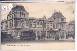 BRUXELLES- GARE DU NORD - Spoorwegen, Stations