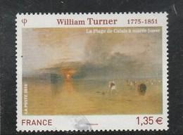 FRANCE 2010 WILLIAM TURNER YT 4438 OBLITERE - - France