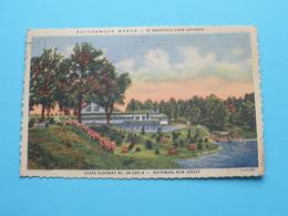 BUTTONWOOD MANOR - Lake Lefferts ( Matawan / Genuine Curteich ) Anno 1947 ( See / Voir Photo ) ! - Etats-Unis