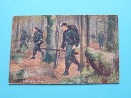 Les Armes Françaises > CHASSEURS A PIED ( Série 981 - N° 4 ) Anno 19?? ( Voir / Zie Photo ) ! - Manoeuvres