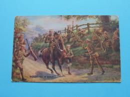 READY To A MAN ! ( Oilette / Tuck - N° 8731 ) Anno 19?? ( Voir / Zie Photo ) U.K. ! - Guerres - Autres