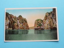 NORD VIETNAM - BAIE D'ALONG - Un Couloir ( Edit. P. C. - 12 ) Anno 195? ( Voir / Zie Photo ) ! - Viêt-Nam