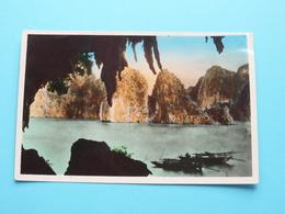 NORD VIETNAM - Vue De QUANG YEN - Baied'Along - Rade ( Edit. P. C. - 13 ) Anno 195? ( Voir / Zie Photo ) ! - Viêt-Nam