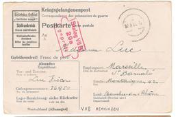 17548 - STALAG  VII B HEMMINGEN - Marcophilie (Lettres)