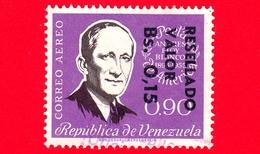 VENEZUELA - Usato - 1965 - Andres Eloy Blanco - Resellado 0.15 Su 90 - Posta Aerea - - Venezuela