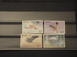 NEVIS - 1985 UCCELLI 4  VALORI  - NUOVI(++) - St.Kitts E Nevis ( 1983-...)