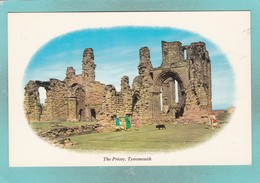 Small Post Card Of The Priory,Tynemouth, Tyne And Wear V89. - England