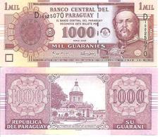 Paraguay  P-222  1000  Guaranies  2005  UNC - Paraguay