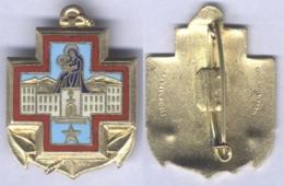 Insigne De L'Hôpital Maritime Ste Anne - Toulon - Medicina