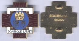 Insigne De L'Hôpital D'Instruction Des Armées Dominique Larrey - Services Médicaux