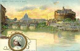 Lit Berandi  Roma Ponte E Castel S Angelo  Beatrice Cenoi RV - Roma