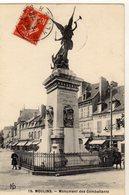 Moulins Monument Des Combattants - Moulins