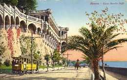 Genova Corso Aurelio Saffi TRAM  Colorisée RV - Genova