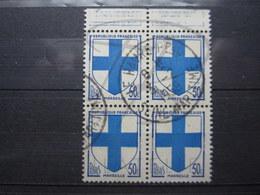 """VEND BEAUX TIMBRES DE FRANCE N° 1180 EN BLOC DE 4 + BDF , OBLITERATION """" LE HAVRE """" !!! - 1941-66 Coat Of Arms And Heraldry"""