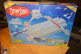 Rare Vaisseau Complet Dans Sa Boite D'origine Captain Scarlet 1993 - Toy Memorabilia