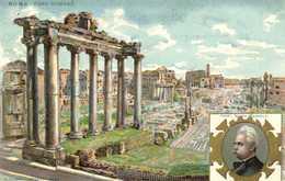 Lit Berardi ROMA FORO ROMANO Prof Guido Baccelli  RV - Roma (Rome)