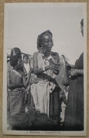 1 CPA Vierge DJIBOUTI Vendeuses De Lait - Djibouti