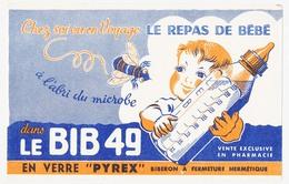 Buvard 20.8 X 13.3  Le BIB 49 En Verre Pyrex Biberon à Fermeture Hermétique - Enfants