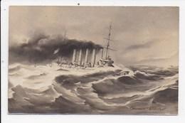 """CPA BATEAU DE GUERRE Marine Française Croiseur """"Askold"""" - Guerre"""