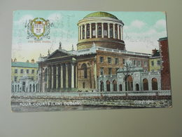 IRLANDE DUBLIN FOUR COURTS LAW - Dublin