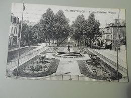 ALLIER MONTLUCON AVENUE PRESIDENT WILSON - Montlucon